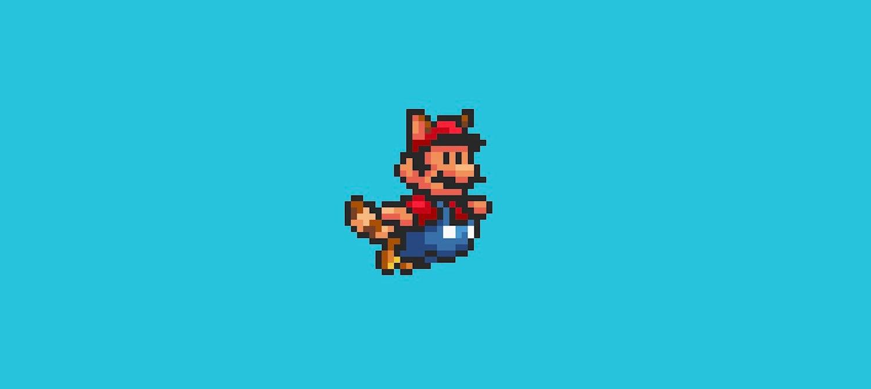 Mario in Fox Suit mode