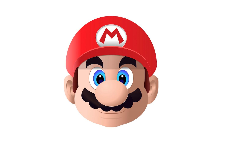 Super Mario's head