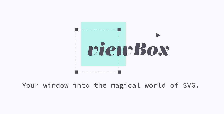 The viewBox logo, full constructed